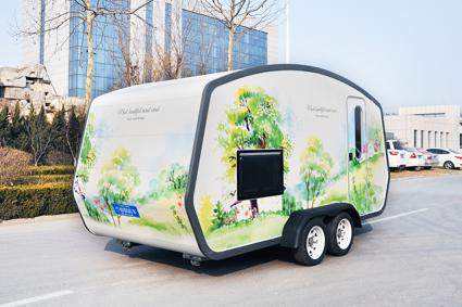 RL-F56 Food Truck Mobile Food Trailer Mobile Recreational Vehicle For Sale