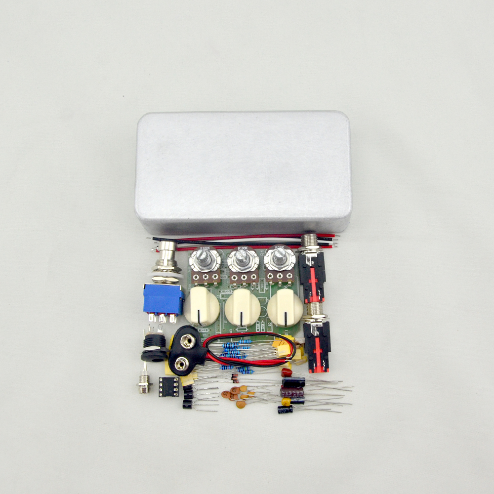 diy distortion guitar pedalkits with 1590b high quality enclosure guitar parts accessories. Black Bedroom Furniture Sets. Home Design Ideas