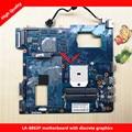 Apto para samsung np355c4c np355v5c qmle4 la-8863p ba59-03568a laptop motherboard 100% testado