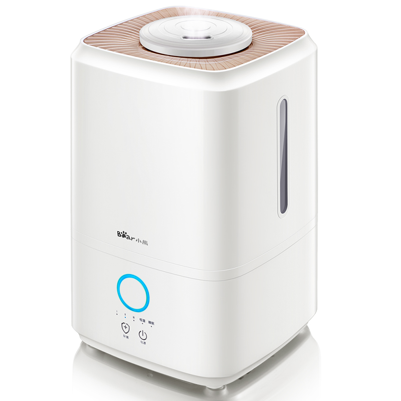220V Bear 4L Air Purifier Humidifiers Touch Control Sterilization Air Humidifiers Constant Humidity Hot Fog EU/AU/UK/US Plug 220v 4l air purifier humidifiers touch control hot fog sterilization air humidifiers h 450 for home office 450ml h efficiency