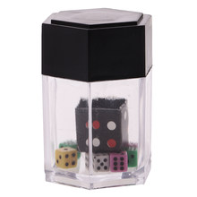 Crash Explosion Dice Close Up Magic Trick Joke Prank Toy Street(China)