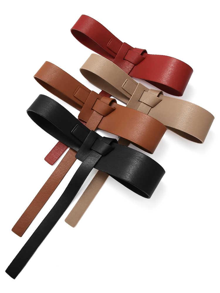 Nouvelle conception détachable taille ceinture chaîne Punk hip-hop à la mode femmes ceintures dame mode boucle en cuir ceinture Jeans