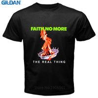 Tailored Shirts Gildan O Neck Comfort Soft Short Sleeve Mens Faith No More The Real Thing