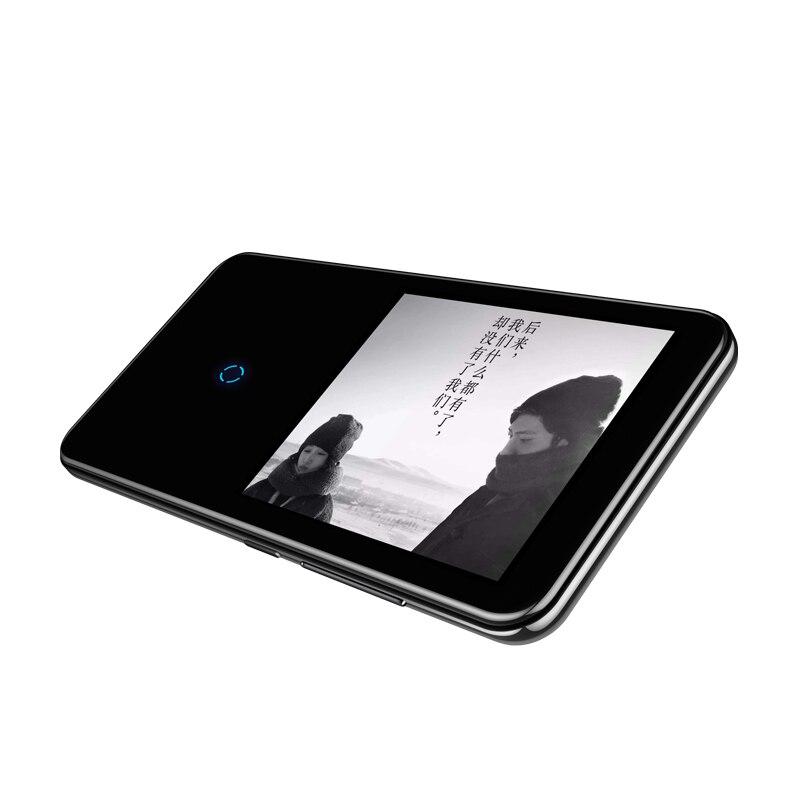 Bluetooth lecteur mp3 2.4 pouces écran tactile intégré haut-parleur avec radio FM/enregistrement Portable mince sans perte son baladeur - 5