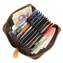 Card Holders Wallets Men Cow Leather