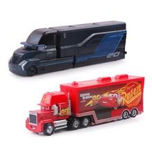 Disney Pixar с рисунками из мультфильма «Тачки 2 3 Lightning McQueen Мак дядя грузовик Джексон Storm Крус 1:55 литья под давлением металлический брелок для авт...