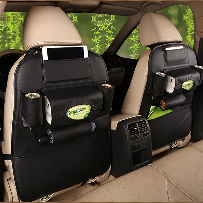 New Car seat storage bag Hanging bags car seat back bag Car product Multifunction vehicle storage storage box цена