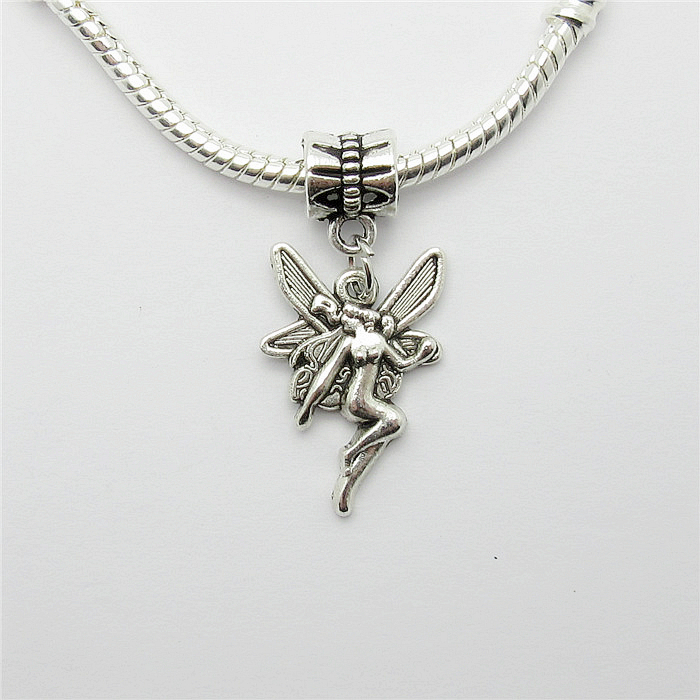 Wholesale lots 20pcs tibetan silver charms beads suspension metal wholesale lots 20pcs tibetan silver charms beads suspension metal angel charm pendants for jewelry making aloadofball Images