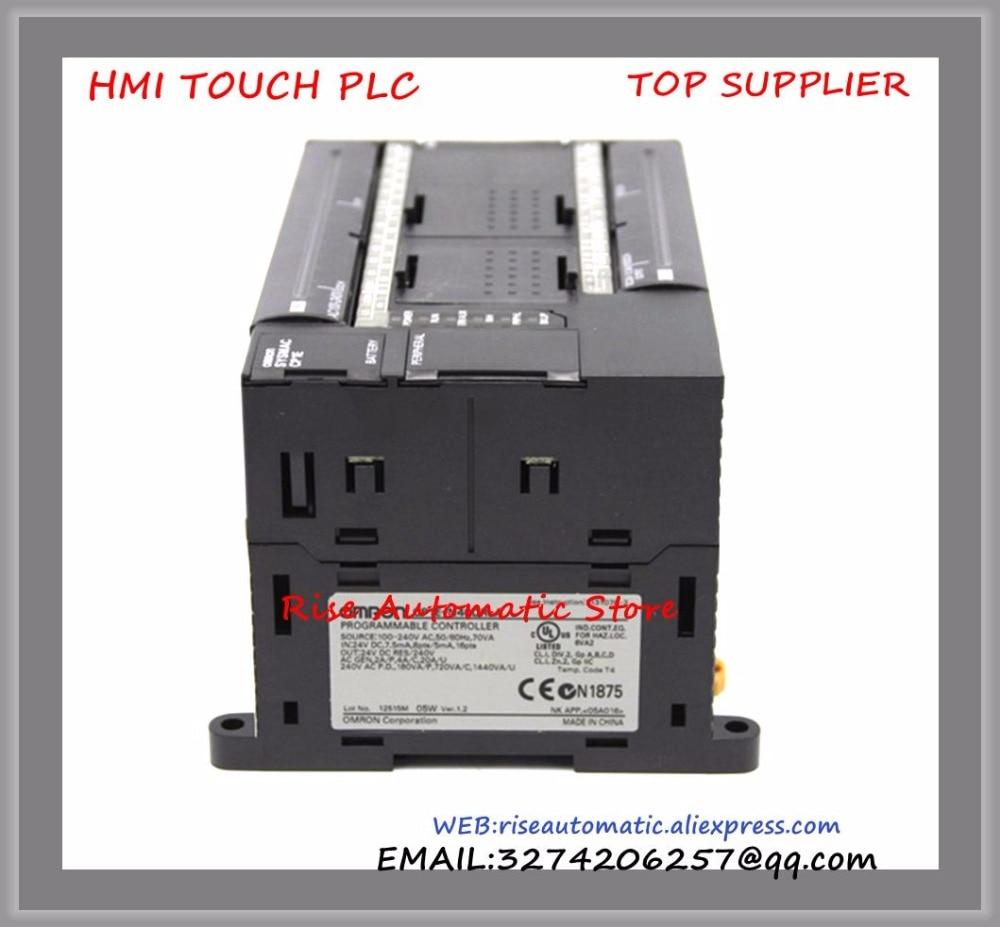 New original 24 DI 16 DO Relay PLC Programmable Logic controller CP1E-N40DR-A 100-240V plc programmable logic controller module and 3 5 inch hmi learning plan hmi plc