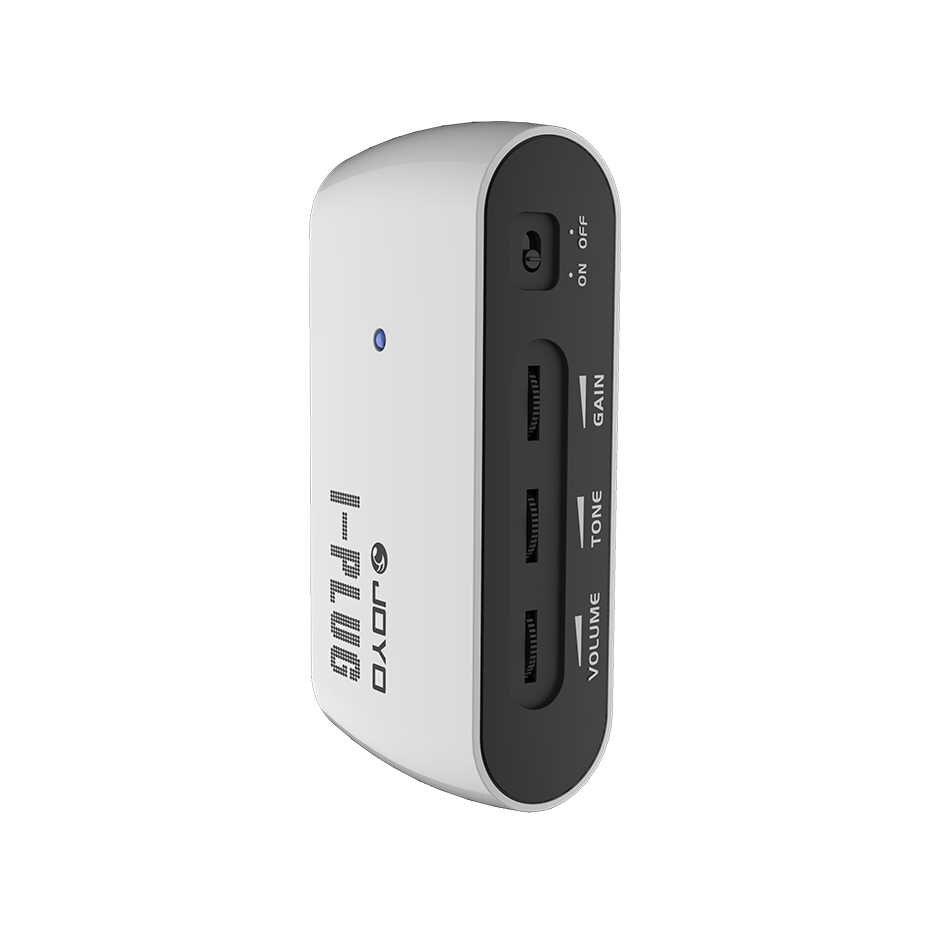 JOYO Aku-Plug Gitar Headphone Pocket Amplifier Mini Amp dengan Built-In Overdrive Efek Suara untuk Windows Phone/Android /Ios