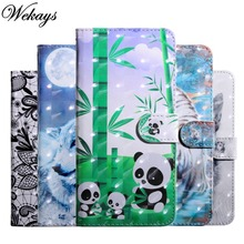 Wekays For Zen Phone Max Plus M1 ZB570TL Cartoon Leather Funda Wallet Case For Coque ASUS Zenfone Max Plus M1 ZB570TL Cover Case