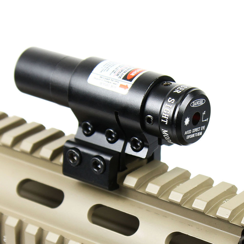 Red Dot Laser w/Montage Réglable 11mm 20mm Picatinny Rail Huntting Tactique Optique Outils