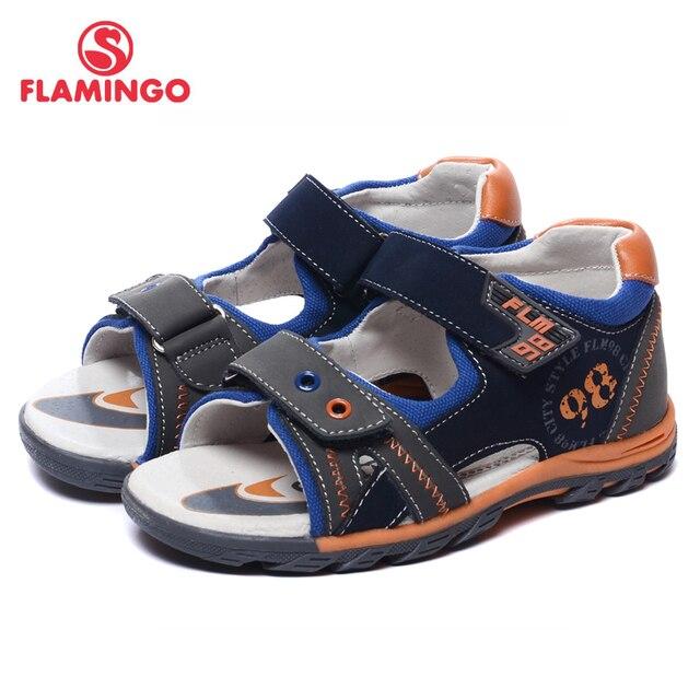 Flamingo известный бренд 2017 новых прибытия весенние и летние дети мода высокого качества сандалии для мальчиков 61-xs172