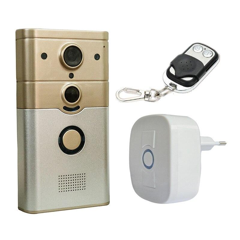 Здесь можно купить  APP Remotol 720P WIFI Doorbell With Bell Intercom Video Door Phone  Безопасность и защита