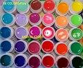 New 30 Color SOLID PURE UV GEL Builder NAIL ART Polish KIT Set Tips Kit Acrylic