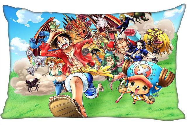 One Piece Bedding Rectangle Zipper Cotton Pillowcase