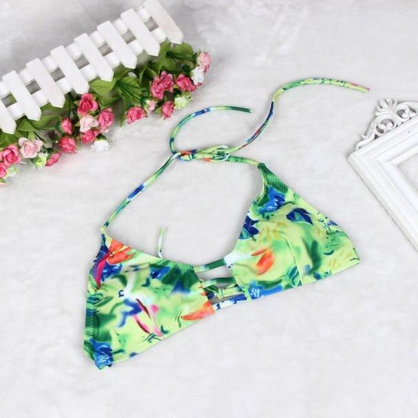 bikinis women 2017 print floral bikini women swims bathing suit tankini swimsuits hot sexy ladies swimwear summer Beachwear