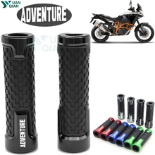 Universal 7/8Motorcycle Accessories Handle Bar Handlebar Hand Grips For KTM 640 950 990 1090 1190 Adventure Super Adventure 7 8 22mm motorcycle handlebar girps for ktm 990 1090 1190 adv 1290 super adventure s adventure 1050 accessories
