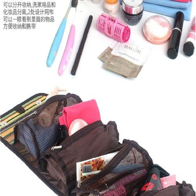 Outdoor camping portable wash bag travel cosmetic bag folk style finishing bag storage bag hanging bag fashion handbags