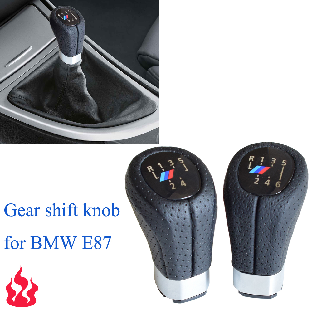 5/6 Speed Gear Shift Knob Head Stick Shifter Lever Pen Handle HandBall For BMW 1 3 Series E81 E82 E87 E88 E90 E91 E92 E93-in Gear Shift Knob from Automobiles & Motorcycles