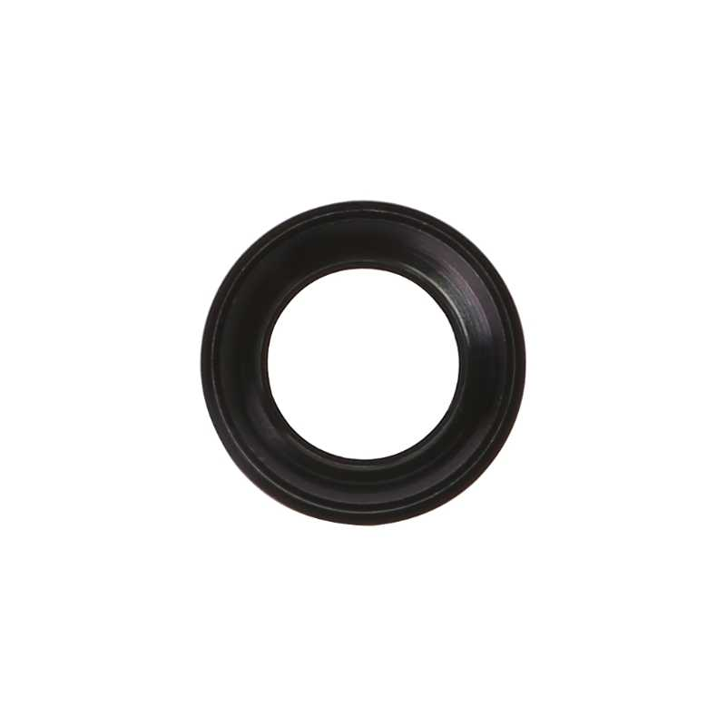 Hitam Kamera Belakang Kaca Penutup Lensa dengan Bingkai Logam untuk iPhone 6 Plus 5.5 Inch