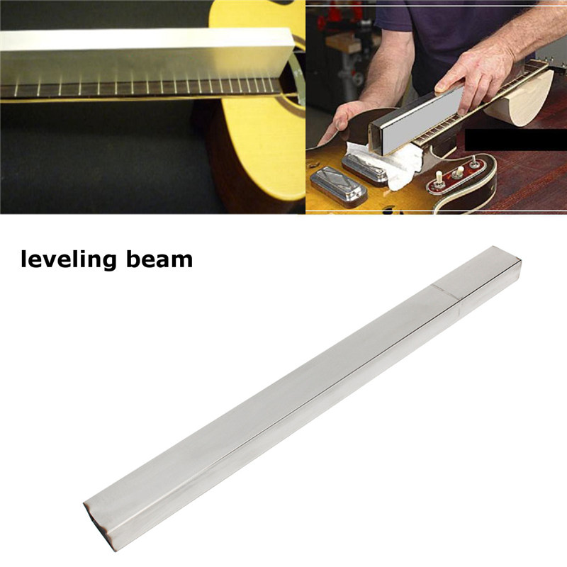 Zebra 19'' Fret Leveling Beam Guitarra Guitar Bass File Luthier Tool For Musical Stringed Instruments Guitar Parts Accessories thyssen parts leveling sensor yg 39g1k door zone switch leveling photoelectric sensors