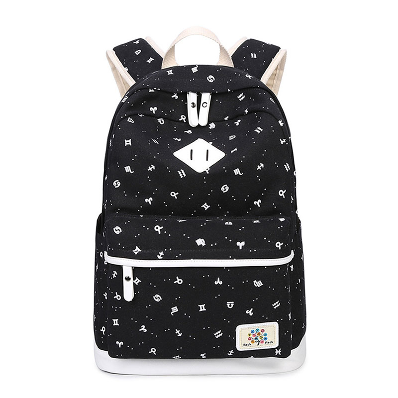 все цены на Canvas Backpack Back To School Bags Children Backpacks For Teenage Girls Fashion Backpack Women Schoolbag Feminine Backpacks