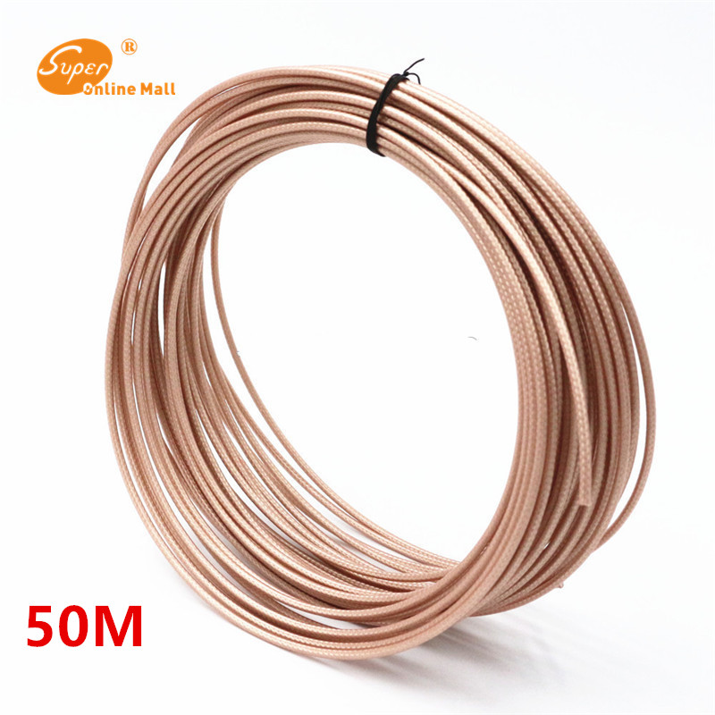 50meters lot 164ft New arrivals RG316 RG 316 cable Wires RF coaxial Cable 50 Ohm for