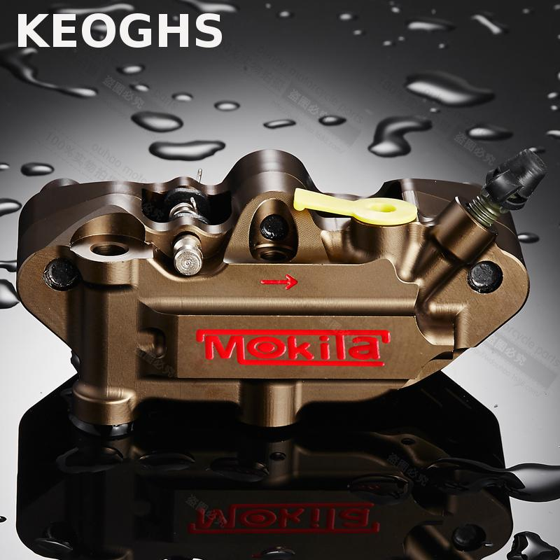 KEOGHS Motorcycle Modify Brake Caliper For Hydraulic Brake System 40mm Cnc Aluminum Good Performance For Ducati Honda keoghs motorcycle hydraulic brake system 4 piston 100mm hf2 brake caliper 260mm brake disc for yamaha scooter cygnus x modify