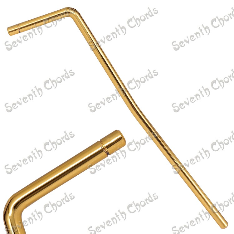 gold plating 5 2mm diameter electric guitar shaking bar crank lever tremolo crank bar tremolo. Black Bedroom Furniture Sets. Home Design Ideas
