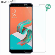 Screen Protector Glass For Asus Zenfone 5 Lite ZC600KL Anti-brust Tempered Glass Asus Zenfone 5 Lite ZC600KL Screen Glass HATOLY аксессуар закаленное стекло df для asus zenfone 5 lite zc600kl full screen acolor 15 black