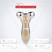 3D Massager Roller of Micro Current and Vibration Electric Full Body Anti Wrinkle Ball Massage Lymphatic on Sale