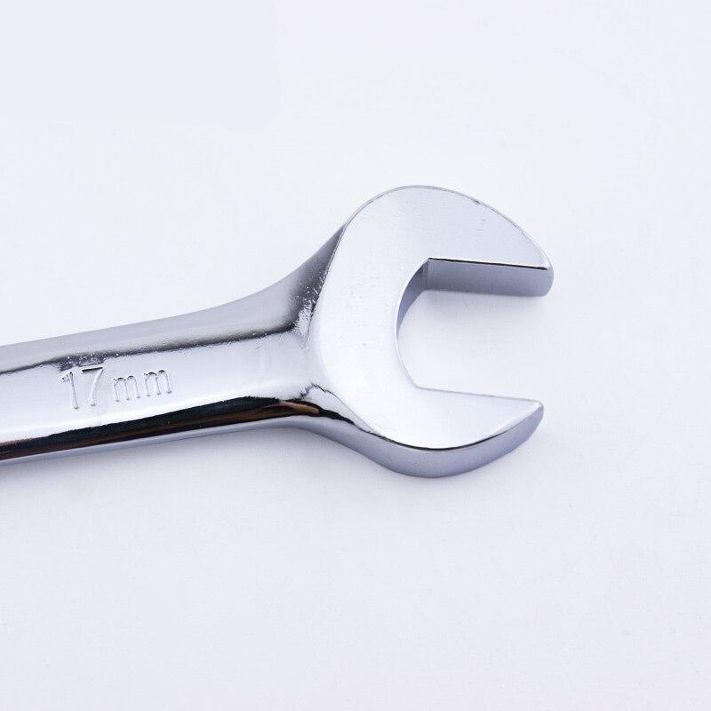 Хром-ванадиевой Quick Реверсивный Комбинации, Гаечные ключи комплект Металл усилила гнездо Гаечные Ключи автосервис ручные инструменты дома