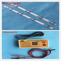 LED Backlight strip For LG 42 inch TV 825mm INNOTEK DRT 3.0 6916L 1709B 1710B 1957E 1956E 6916L 1956A 2pcs and LED tester 1pcs