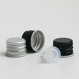 Image 5 - 200 x 5ml 10ml 15ml 20ml 30ml 50ml 100ml Amber Boston Round Glass Essential oil Bottle With Black Silver Lids PE insert