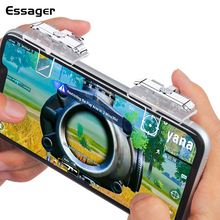 Essager Gamepad Joystick for PUBG Mobile Joypad Trigger Fire Button Aim L1 R1 Key L1R1 Shooter Controller Game Pad for Android цены онлайн