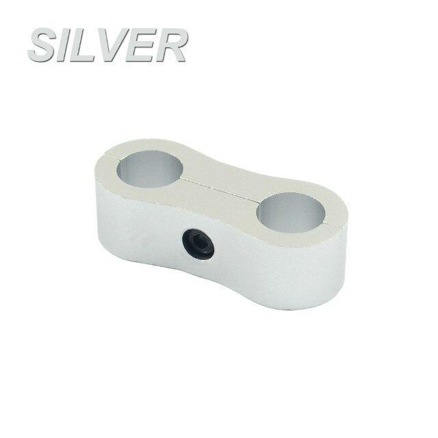 WLR RACING-заготовка Алюминиевый шланг сепаратор линии AN6 ID: 13,5 мм(костюм шланга 200-06) WLR-SLJN01-06-021 - Цвет: Серебристый