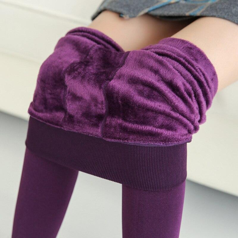 newest 8 colors winter warm leggings women 2017 fashion high quality elastic thicken velvet pants trousers halloween leggings