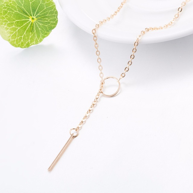 New Tiny simple Necklace for Women SHORT Chain Heart Shape Pendant Necklace Gift Ethnic Bohemian Choker Necklace drop shipping