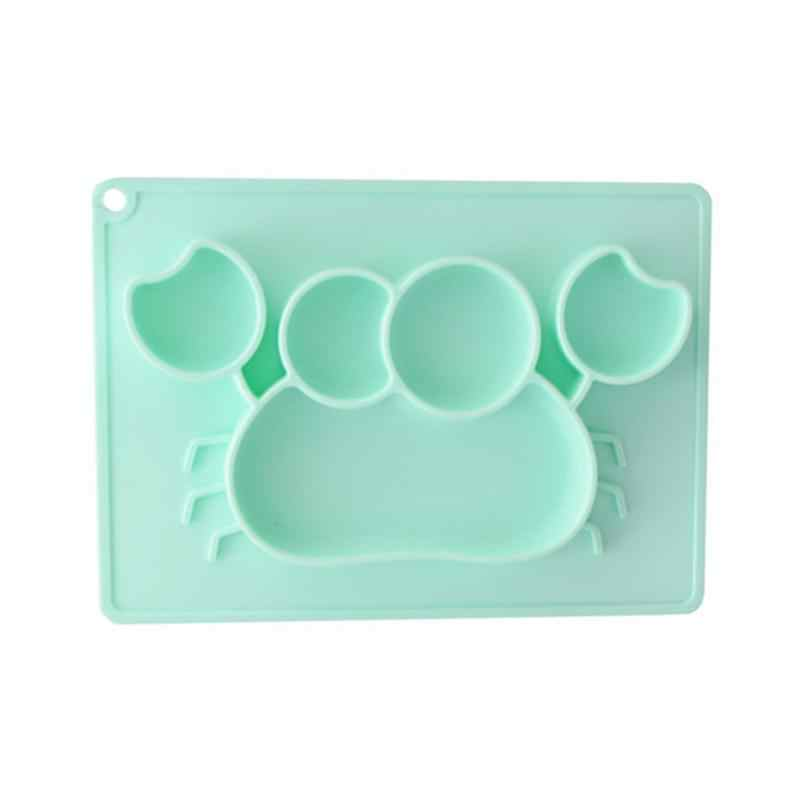 Baby Feeding Mat Toddlers Silicone Placemat Dishwasher Microwave Oven Safe Fits Most High Chair Trays Tableware
