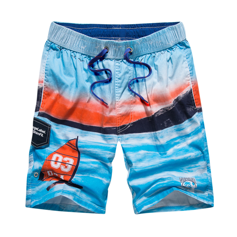 Beach Shorts Men Swim Shorts Quick Dry Surf Board Shorts Bermuda Praia Swimsuit Boardshorts Mens Swim Trunks Swimwear