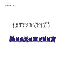 JC Metal Cutting Dies for Scrapbooking Animal Dog Cats Craft Die Cuts Card Making Stencil DIY Handmade Album Paper Decor