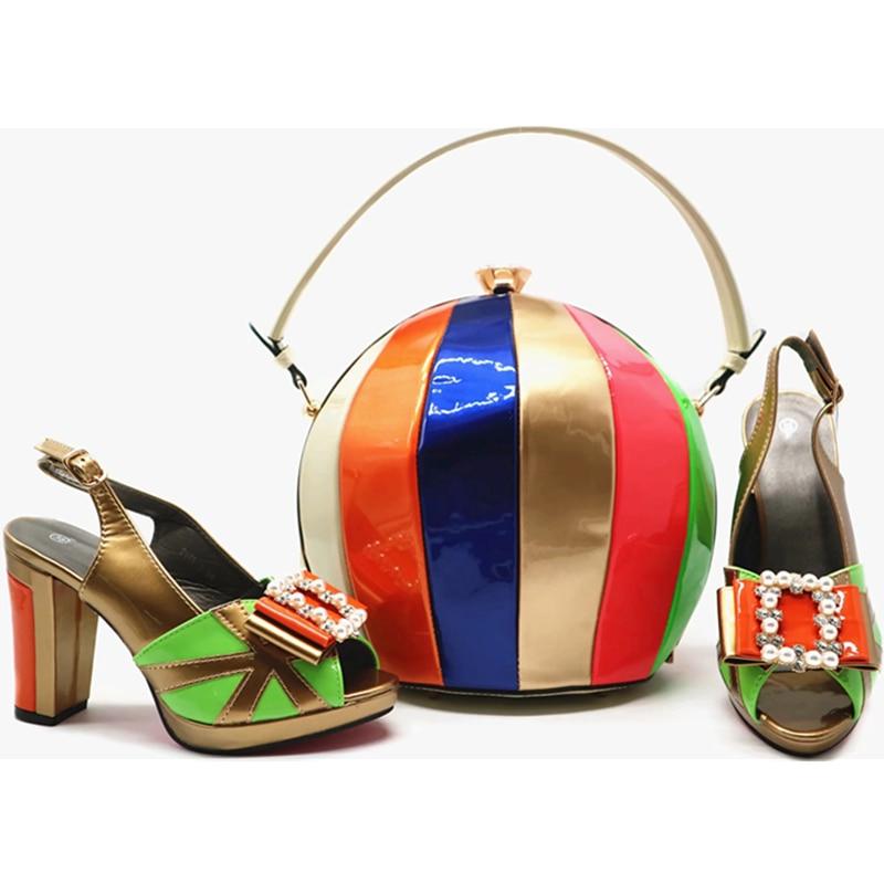 Femmes Sacs Pour Le 4 Les 2 Dernières Italiennes De 6 Italie Luxe Avec 2018 Moda Chaussures Zapatos 5 1 Vestir Designers 3 Mariage Mujer Assortis wqI07