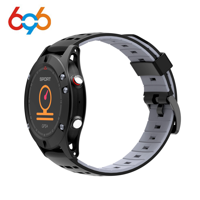 696 F5 GPS Smart watch Altimeter Barometer Thermometer Bluetooth 4.0 Smartwatch Wearable devices for iOS Android dtno i f5 gps smart watch wearable devices activity tracker bluetooth 4 2 altimeter barometer thermometer gps sport watch
