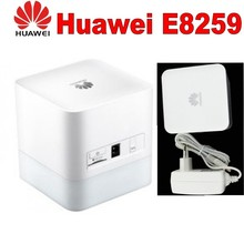 White Huawei B310S-22 High Speed LTE Cat4 150Mbps 4G Wireless Gateway pair antenna