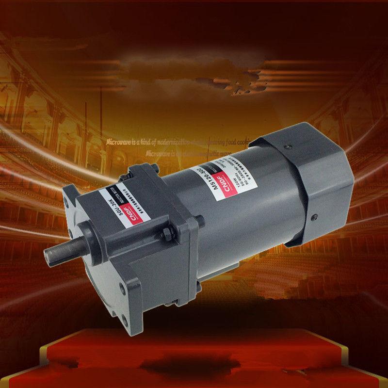цена на Single phase 110V/115V 220V/230V AC Vertical Gear Motor Adjust the speed 120W M5120 5GU 7RPM-450RPM
