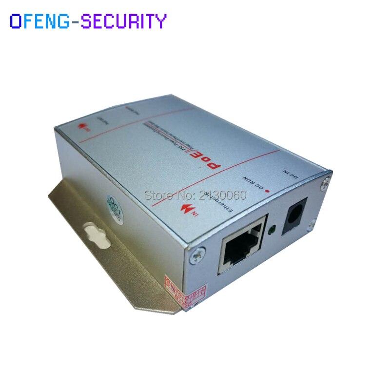 Standard POE Injector IEEE802.3af/at, 2 X Gigabit RJ45 Port, Single Port Gigabit PoE Injector 30W