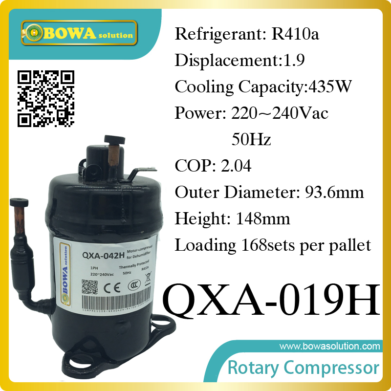 R410a compressor (435W cooling capacity)  suitable for desk bottle cooler and portable dry chamber 1560w monoblock refrigeration unit suitable for 10m3 beverage cooler or bottle cooler room