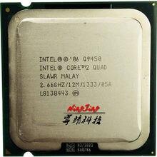 Intel Core 2 Quad Q9450 2,6 GHz Quad-Core CPU procesador de 12M 95W LGA 775