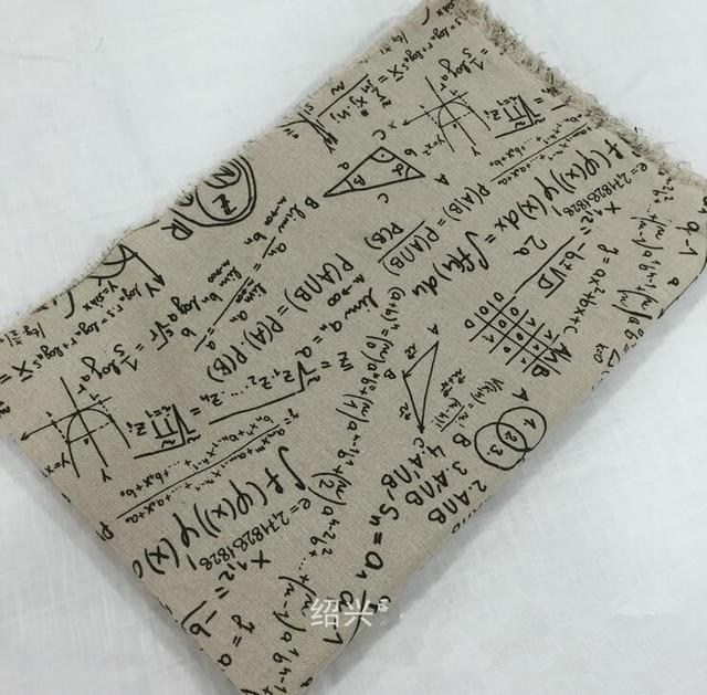 100*150 cm rétro d\'ameublement imprimé s coton lin tissu par mètre ...